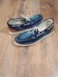 Pantofi/tenisi dama TIMBERLAND Earth Keepers originali noi tesut jeans 39, Albastru, Cu talpa joasa