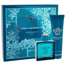 Apa de toaleta Versace Eros Barbatesc 100ML Edt 100 ml + Shower Gel 150 ml - Parfum barbati