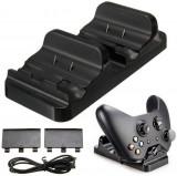 Stand dual incarcare controller XBOX One + Doi Acumulatori - ID 60121