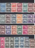 ROMANIA 1941  LP 144   MONUMENTE  ISTORICE  BLOCURI  DE  4  TIMBRE  MNH, Nestampilat
