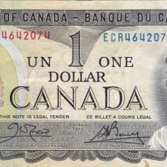 CANADA 1 dollars 1973 VF!!!