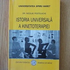 ISTORIA UNIVERSALA A KINETOTERAPIEI- NICOLAE POSTOLACHE
