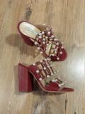 LICHIDARE STOC! Superbe sandale-saboti dama noi piele naturala 37