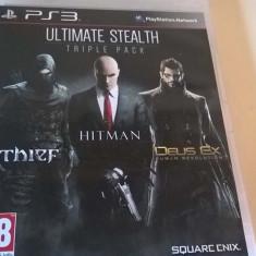 Ultimate Stealth Triple Pack PS3 - Jocuri PS3 Square Enix