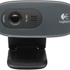 Camera Web Logitech C270, HD (Negru) - Webcam