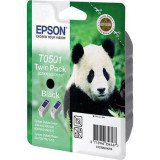 Consumabil Epson Cartus T0501 Twin Pack Black - Riboane imprimanta