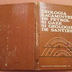 Geologia Zacamintelor De Petrol Si Gaze Si Geologie De Santier -D.Prodan, C.Beca, Didactica si Pedagogica