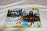 [360] Lord of the Rings - War in the North -  joc original Xbox360