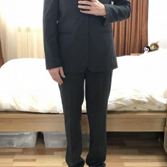 Costum barbatesc Zara, clasic, Gri