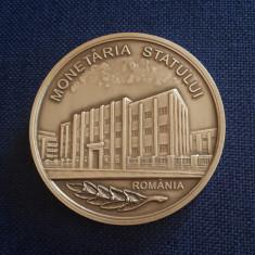Medalie Monetaria Statului - Carol I - Romania