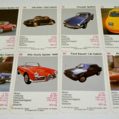 Cartonase masini pentru copii Super Triumpf Cabrios Piatnik Mini Puzzle