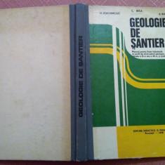 Geologie De Santier. Manual pentru licee industriale - M. Ioachimciuc, C. Beca, Didactica si Pedagogica