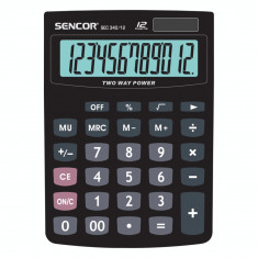 Calculator de birou Sencor SEC 340/12 Black