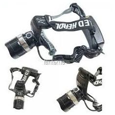 Lanterna Frontala TK27 cu zoom si lupa 3 baterii sau acumulatori AAA
