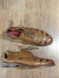LICHIDARE STOC! Pantofi dama GRENSON handmade piele naturala integral noi 37.5