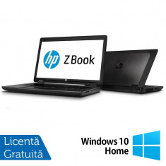 Laptop Refurbished Hp Zbook 17, Intel Core i5-4330M 2.80Ghz, 8GB DDR3, 128GB SSD, DVD-RW, 17.3 inch, IPS LED display + Windows 10 Home