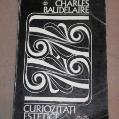 CURIOZITATI ESTETICE CHARLES BAUDELAIRE