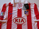 Tricou (nou) NIKE fotbal - ATLETICO MADRID (Spania), XL, Din imagine, De club