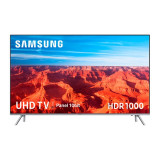 "Smart TV Samsung UE82MU7005 82"" Ultra HD 4K LED USB x 3 HDR 1000 Wifi Argintiu"