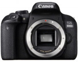 Aparat Foto DSLR Canon EOS 800D, Body, 24.2 MP, Full HD, Wi-Fi (Negru)