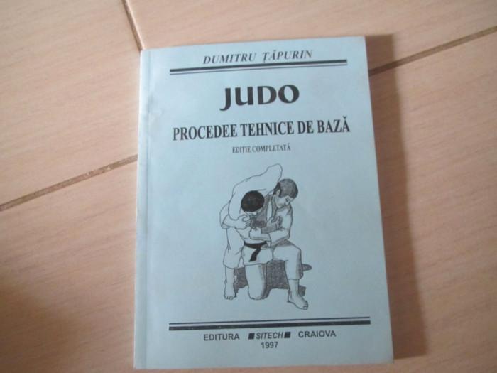 Judo Procedee Tehnice De Baza Dumitru Tapurin