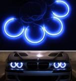 Lumini Angel eye albastru pentru BMW E36 E38 E39 E46 kit 4 buc