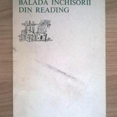 Oscar Wilde – Balada inchisorii din Reading