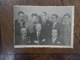 Octav Sulutiu, G. Vasiliu, Radu Gyr, Silviu Cernea, Victor Eftimiu, 1935 Bucuresti, Fotografie de grup