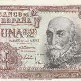 Spania  1 Peseta 1953   P.144   UNC
