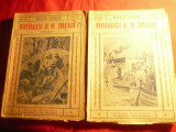 Jules Verne -  Naufragiatii de pe Jonathan -vol.1 si 2 cca.1940 Cugetarea,trad.J