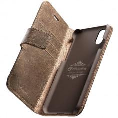 Husa Flip Cover Cellularline SUPREMECIPH8XN Supreme Piele Maro pentru APPLE iPhone X