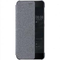 Husa Flip Cover Huawei 51991877 Agenda Smart Gri pentru HUAWEI P10 Plus