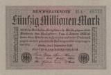 Germania 50 Millionen Mark  1923 P109a., Ro.108  XF