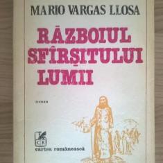 Mario Vargas Llosa – Razboiul sfarsitului lumii