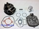 Kit Cilindru - Set motor + CHIULOASA Scuter Aprilia Racing - 49cc - APA