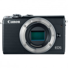 Aparat foto Mirrorless Canon EOS M100, 24.2 MP, Black Body