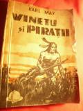 Karl May - Winetu si Piratii -Ed. Danubiu , interbelica ,trad.P.Ghitulescu