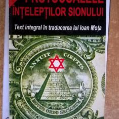 Protocoalele inteleptilor Sionului - Carte Istorie