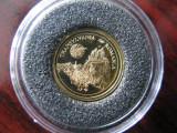 Fiji - 5 Dollars  2006  - 1.24 gr Aur .999 - TRANSYLVANIA ROMANIA -  PROOF, Australia si Oceania