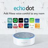 Echo Dot (2nd Generation) - Smart speaker with Alexa - White, sigilat + garantie