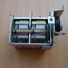 Condensator variabil