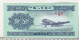 bnk bn China 2 fen 1953 unc