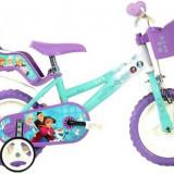 Bicicleta copii DINO BIKES 126RL-FZ2, Roti 12inch, FROZEN MOVIE, Dino Bikes