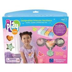 Spuma de modelat - Colierul printesei - Jocuri arta si creatie Educational Insights