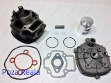 Kit Cilindru - Set motor + CHIULOASA Scuter Aprilia Sport - 49cc - APA