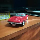 Macheta auto 1967 Chevrolet Corvette, scara 1:24, Motormax