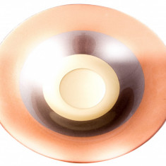 Fructiera din sticla colorata manual