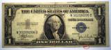 229 USA SUA SILVER CERTIFICATE 1 ONE DOLLAR 1935 C SR. 206