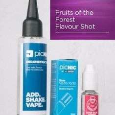 Lichid Tigara Electronica Premium Jac Vapour Fruits of the Forest 60ml, Nicotina 3mg/ml, 80%VG 20%PG, Fabricat in UK, Pachet DiY