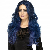 Peruca Occult Witch Suvite Albastre - Carnaval24
